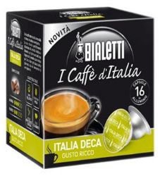 Picture of 128 Capsule in alluminio Mokespresso Italia Deca Decaffeinato