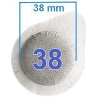 Cialde filtrocarta 38mm