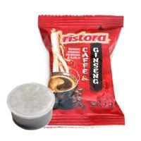 25 Cialde caffè aromatizzato GINSENG Ristora compatibili lavazza POINT