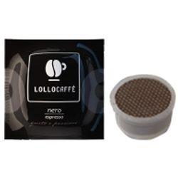 Picture of 100 Cialde caffè Lollo miscela Nero Monodose compatibile Espresso Point