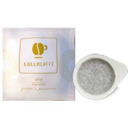 Picture of 150 Cialde filtrocarta 44mm ESE caffè Lollo miscela Oro