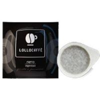 150 Cialde filtrocarta 44mm ESE caffè Lollo miscela Nero