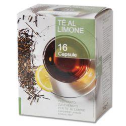 Picture of 128 capsule thè al limone compatibile Lavazza a Modo Mio