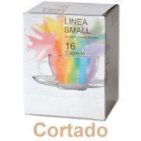 128 capsule Cortado (caffè macchiato) compatibile Lavazza a Modo Mio