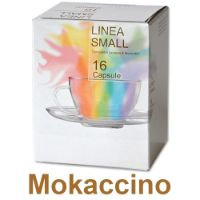 128 capsule Mokaccino compatibile Lavazza a Modo Mio