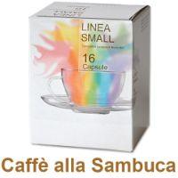 128 capsule Caffè zuccherato alla Sambuca compatibile Lavazza a Modo Mio
