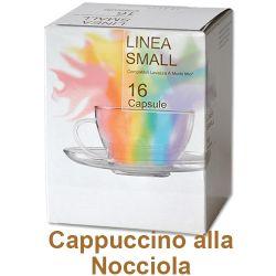 Picture of 128 capsule Cappuccino Aromatizzato alla Nocciola compatibile Lavazza a Modo Mio
