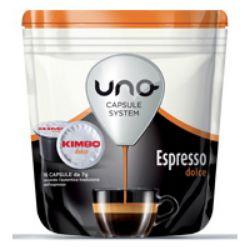 Picture of 96 capsule caffè Kimbo per sistema UNO miscela Espresso Dolce