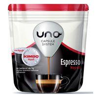96 capsule caffè Kimbo per sistema UNO miscela Napoli