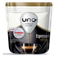 96 capsule caffè Kimbo per sistema UNO miscela Sublime 100% Arabica