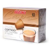 10 capsule Cortado Ristora compatibile Nespresso