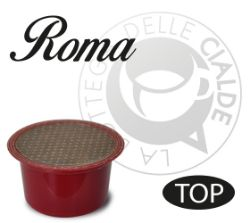 Picture of 50 Capsule caffè ROMA compatibile macchine Lavazza BLUE e Lavazza In Black