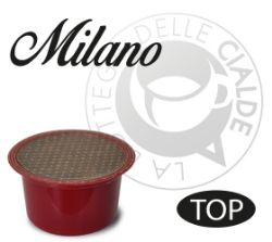 Picture of 50 Capsule caffè MILANO compatibile macchine Lavazza BLUE e Lavazza In Black