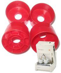 Picture of 10 Adattatori in plastica per utilizzare cialde monodose compatibili sulla macchina bidose Lavazza Espresso e Cappuccino