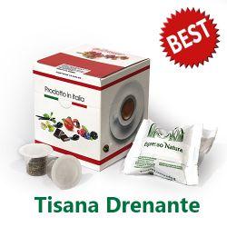 Picture of 10 capsule Tisana Drenante Best compatibile Nespresso