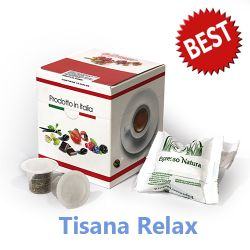 Picture of 10 capsule Tisana Relax Best compatibile Nespresso