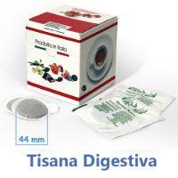 10 Cialde Tisana Digestiva in foglia formato 44mm ESE compatibili MOKONA