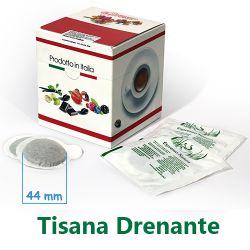 Picture of 10 Cialde Tisana Drenante in foglia formato 44mm ESE compatibili MOKONA