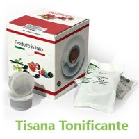 10 Cialde Tisana Tonificante in foglia compatibili Lavazza POINT