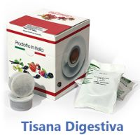 10 Cialde Tisana Digestiva in foglia compatibili Lavazza POINT