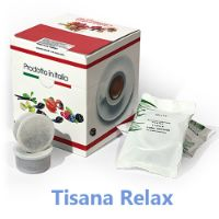 10 Cialde Tisana Relax in foglia compatibili Lavazza POINT