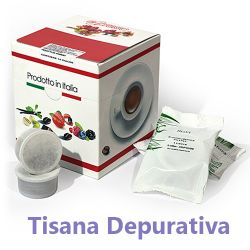 Picture of 10 Cialde Tisana Depurativa in foglia compatibili Lavazza POINT
