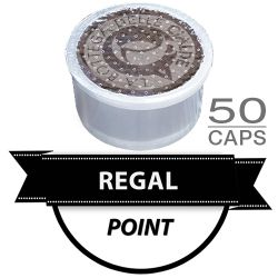 Picture of 50 Cialde caffè  REGAL ARABICA Monodose compatibile Lavazza Point