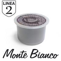 50 capsule Caffè Monte Bianco Linea 2 compatibile Fior Fiore Coop e Aroma Vero