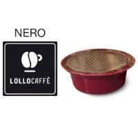 30 Cialde caffè Lollo miscela Nera Monodose compatibile Lavazza A Modo Mio