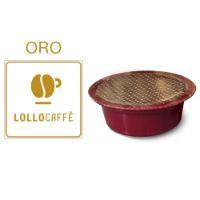 30 Cialde caffè Lollo miscela Oro Monodose compatibile Lavazza A Modo Mio