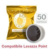 50 Cialde caffè Borbone miscela ORO Monodose compatibile Espresso Point