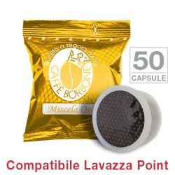 Picture of 50 Cialde caffè Borbone miscela ORO Monodose compatibile Espresso Point
