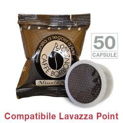 Picture of 50 Cialde caffè Borbone miscela NERA Monodose compatibile Espresso Point