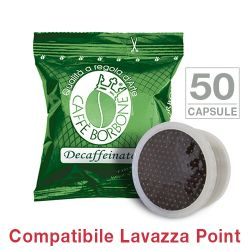 Picture of 50 Cialde caffè Borbone miscela VERDE DECAFFEINATO Monodose compatibile Espresso Point