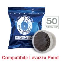 50 Cialde caffè Borbone miscela BLU Monodose compatibile Espresso Point