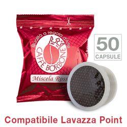 Picture of 50 Cialde caffè Borbone miscela ROSSA Monodose compatibile Espresso Point