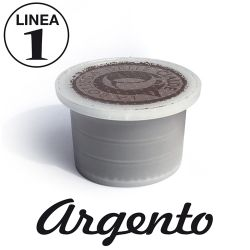 Picture of 50 capsule Caffè ARGENTO Linea 1 compatibile UNO System