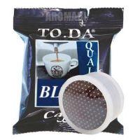 100 Capsule caffè Toda BLU Monodose compatibile Espresso Point