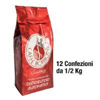 6 Kg GRANI Caffè Borbone Vending miscela ROSSA