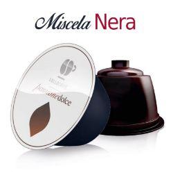 Picture of 96 Capsule caffè Lollo miscela Nera compatibile Dolce Gusto