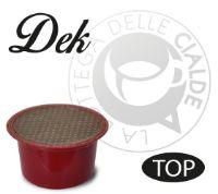 50 Capsule caffè DEK compatibile macchine Lavazza BLUE e Lavazza In Black