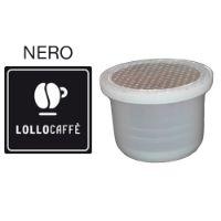 100 Capsule caffè Lollo PassionePiù miscela Nera compatibile Uno System