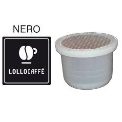 Picture of 100 Capsule caffè Lollo PassionePiù miscela Nera compatibile Uno System