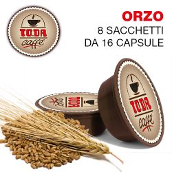 Picture of 128 Capsule Caffè d'ORZO Toda il Mio Gattopardo compatibili A Modo Mio