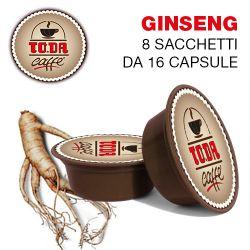 Picture of 128 Capsule Caffè GINSENG Toda il Mio Gattopardo compatibili A Modo Mio