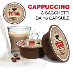 Picture of 128 Capsule CAPPUCCINO Toda il Mio Gattopardo compatibili A Modo Mio
