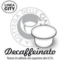 96 capsule Caffè DECAFFEINATO Linea City compatibile Caffitaly