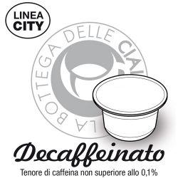 Picture of 96 capsule Caffè DECAFFEINATO Linea City compatibile Caffitaly