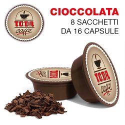 Picture of 128 Capsule CIOCCOLATA Toda il Mio Gattopardo compatibili A Modo Mio