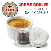 80 capsule Creme Brulee Gattopardo compatibile Nespresso Toda